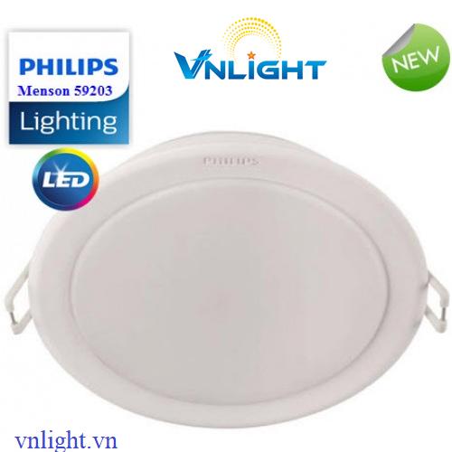 Đèn led âm trần 59203 10W Philips