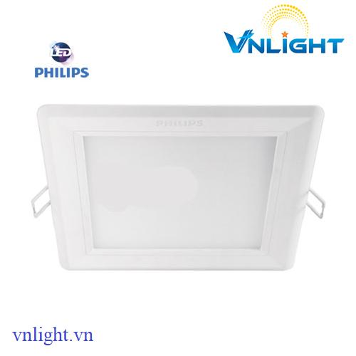 Đèn led âm trần vuông 12W 59832 Philips