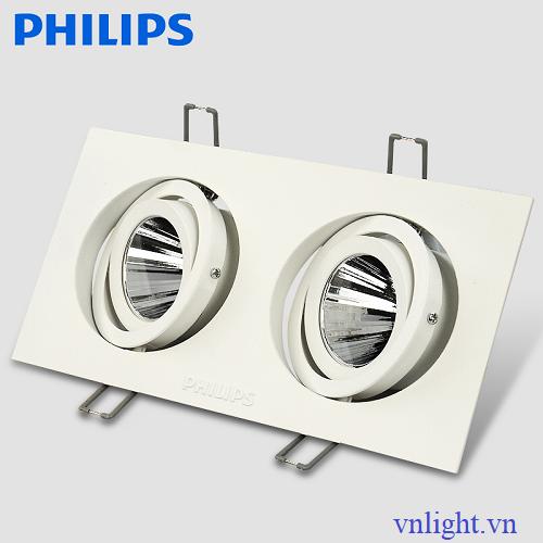 ĐÈN LED CHIẾU ĐIỂM GD022B 2x10W PHILIPS