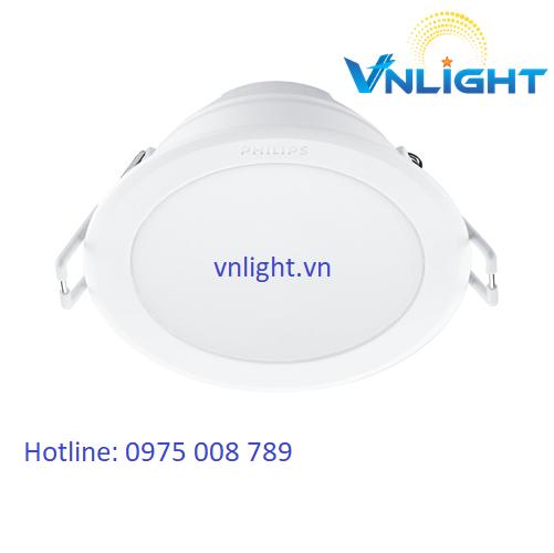 Đèn led âm trần 59445 7W Philips